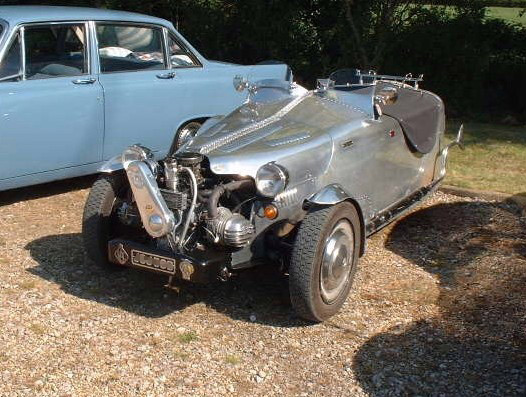 1978 Citroen 2CV Tricycle