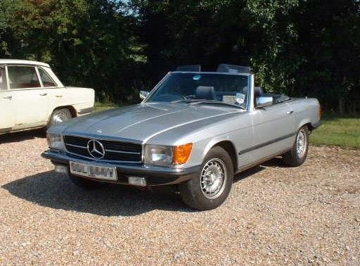 1980 Mercedes 350 Convertible
