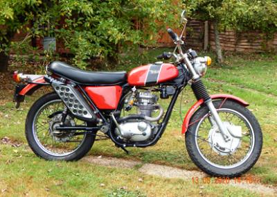 Geoff's 1955 BSA B25SS 250