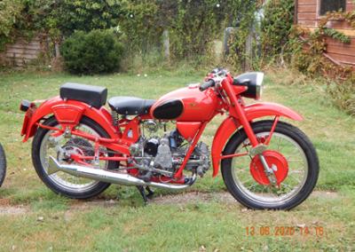 Geoff's 1955 Moto Guzzi Airone Sport
