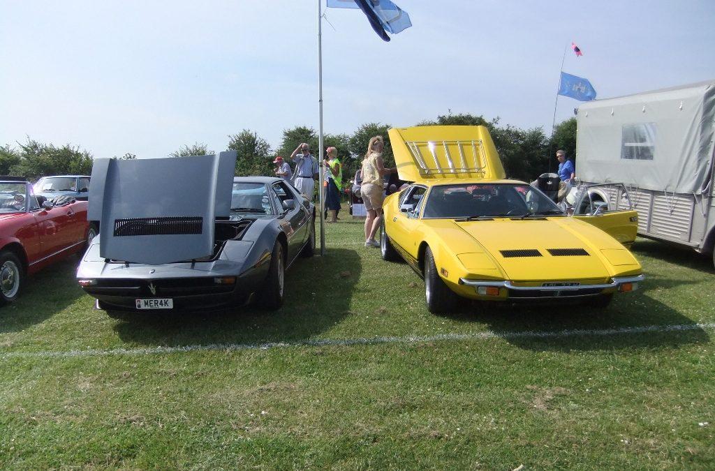 Robin's Maseratis