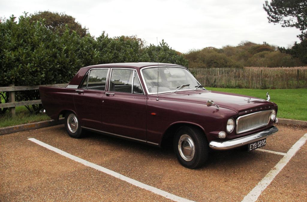 Allan Lock's Ford 1965 Zephyr 4 Mk3