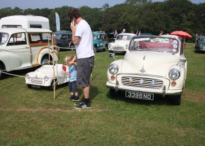 Morris Minor Open Day at Havenstreet 5th Sept